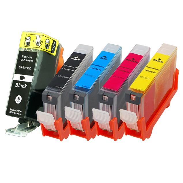 Canon PGI220/CLI221 Compatible Ink 5-Pack