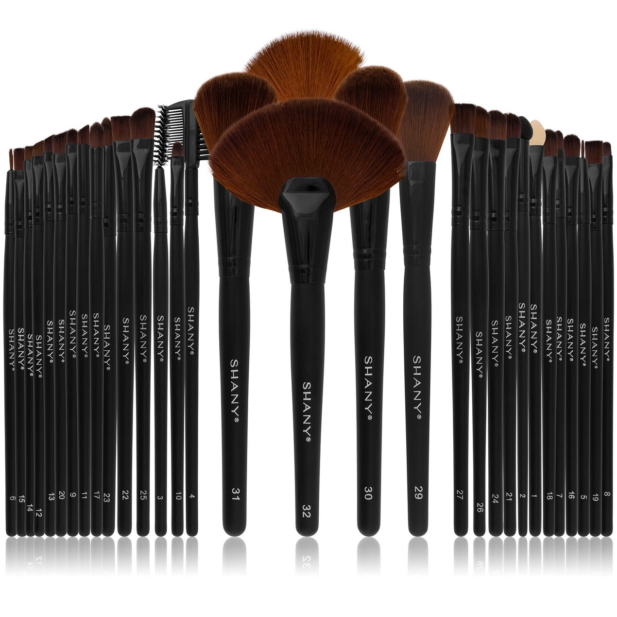 32-Pieces SHANY Professional Synthetic Makeup Brush Set