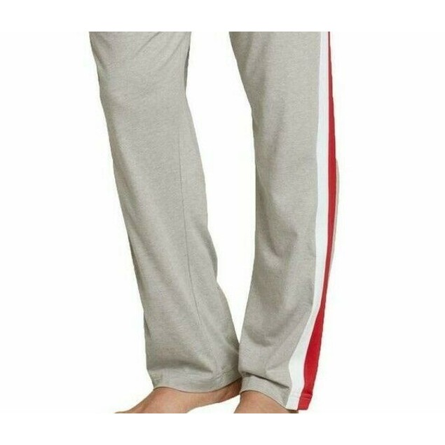 Th Modern Essentials Men's Striped Joggers Gray Size Medium