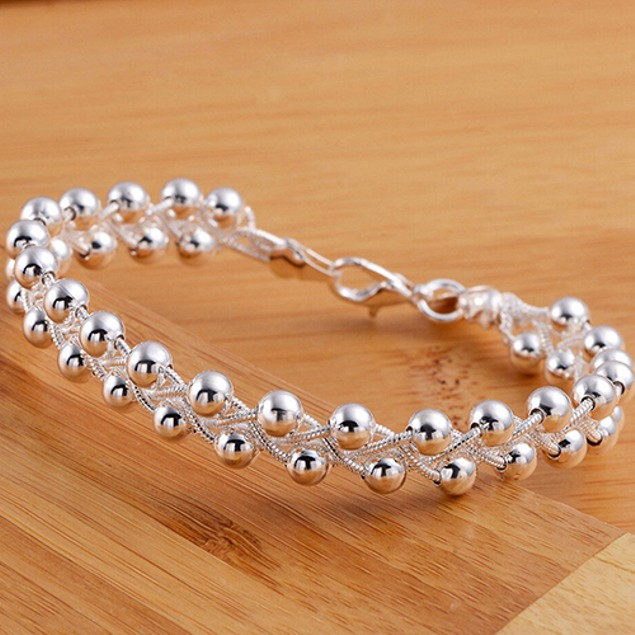Women Cute 925 Sterling Silver Bracelet