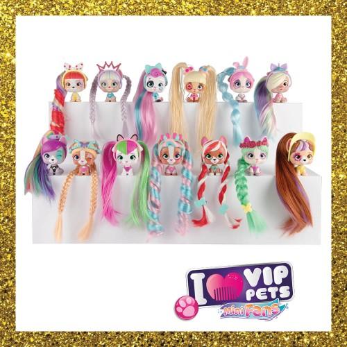 VIP Pets Mini Fans Figures (1 At Random)