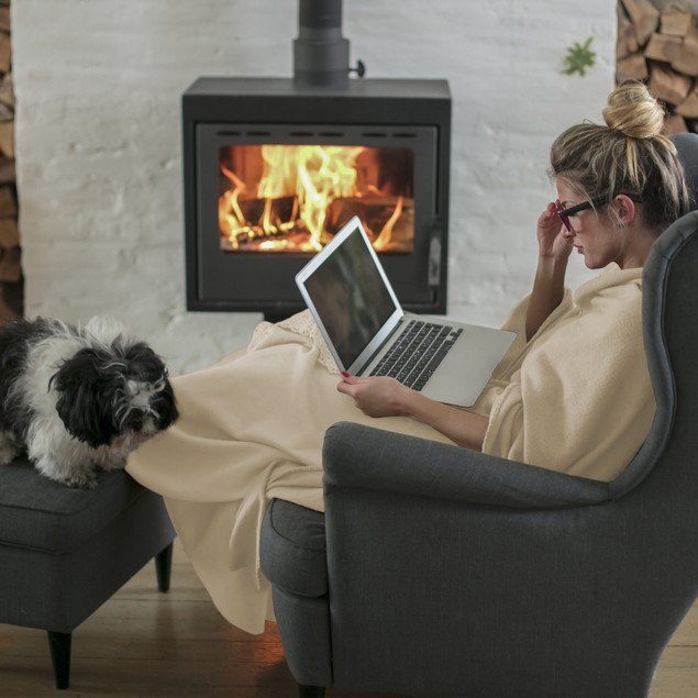 Flannel Fleece Throw Blanket- For Couch, Bed, Sofa & Chair- 60 in. x 70 in