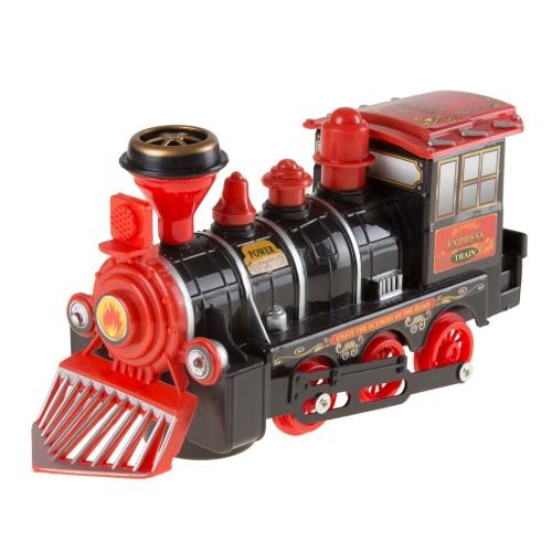 Toy Train Locomotive Engine Car