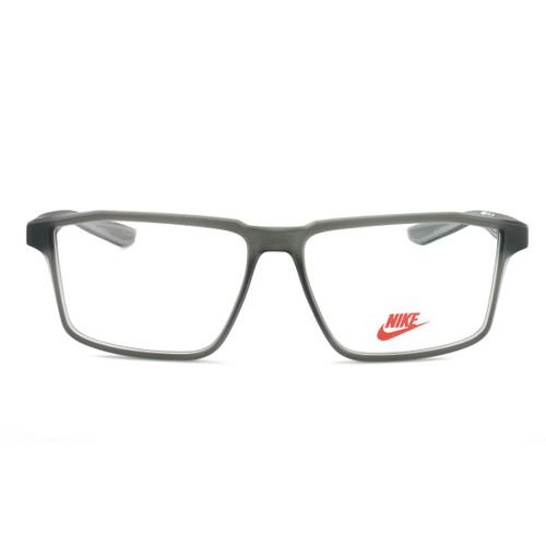 Nike Men's Eyeglasses EV5003 070 Matte Anthracite 53 14 130 Demo Lens