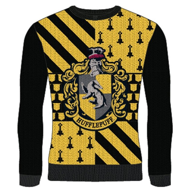 Harry Potter - Hufflepuff Unisex Christmas Jumper XX-Large