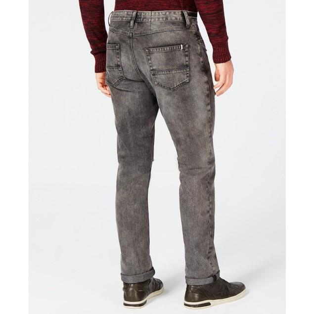 American Rag Men's Slim-Fit Stretch Ripped Jeans Black Size 36X34
