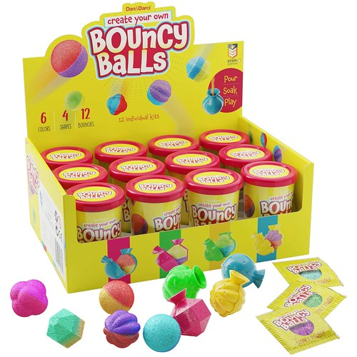 Create Your Own Bouncy Ball Kit - Science Birthday Party Activity for Kids