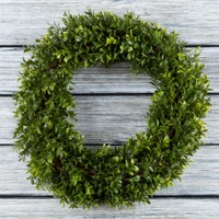Artificial Hedyotis Wreath by Pure Garden