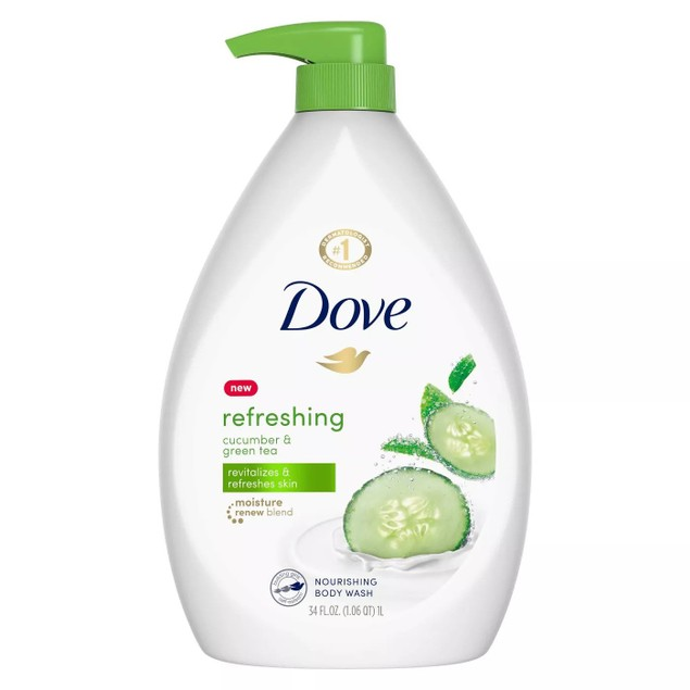 Dove Shower Gel Body Wash with Pump (4-Pack)