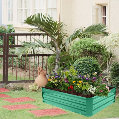 """48"""" x 36"""" x 12"""" Iron Planting Frame And One Pairs Of Gloves"""