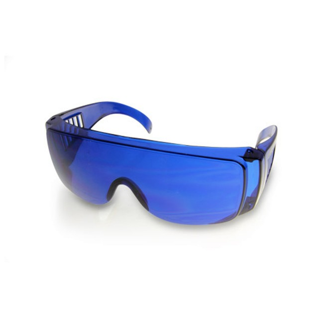 Golf Ball Finder Glasses With Pouch Blue Locator Locating Dad Gift Golfball
