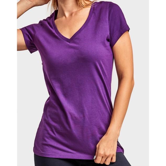 2-Pack: Women's Activewear Raglan V-Neck T-Shirts - Long/Short Sleeves
