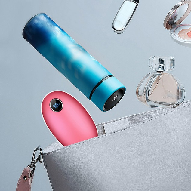 2-in-1 Rechargeable Hand Warmer and 10,000 mAh Power Bank