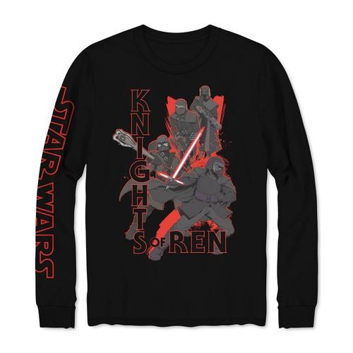 Hybrid Men's Star Wars Knights Of RenSweatshirt Black Size Medium