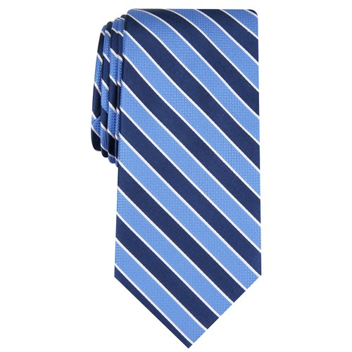 Club Room Men's Stripe Tie Navy - Size Regular