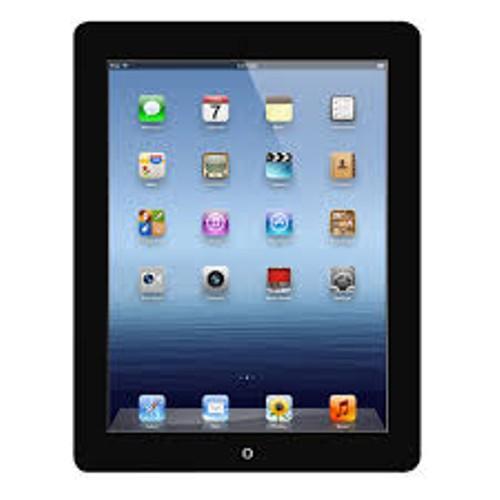 Apple iPad Gen 4 Wi-Fi + Cellular, Unlocked, Black, 16 GB, 9.7 in Screen