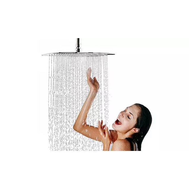 Nuvita Square Ultra-Thin Waterfall Ceiling Shower Head