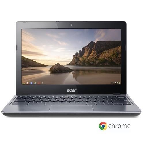 Acer Chromebook C720-2844 Intel Celeron 2955U X2 1.4GHz 4GB 16GB SSD, Blac