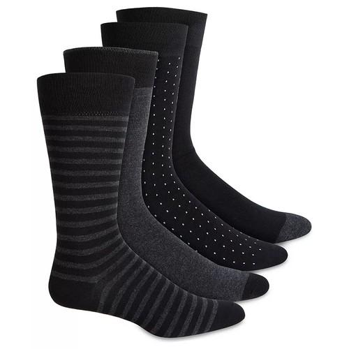 Alfani Men's 4-Pk. Socks Black Size Regular