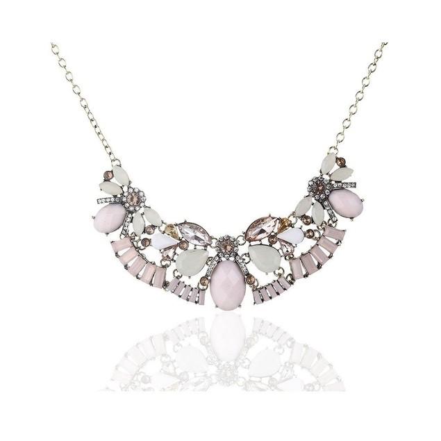 Novadab Cultured Crystal Costume Jewelry Neckpiece, Women Necklace