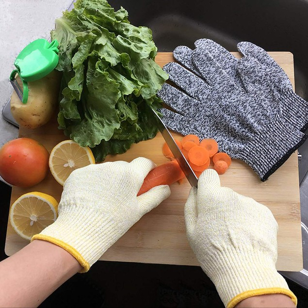 2-Pairs Cut Resistant Gloves For cutting, Fish Fillet and Mandolin Slicing