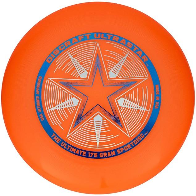 Orange Ultrastar Discraft Disc