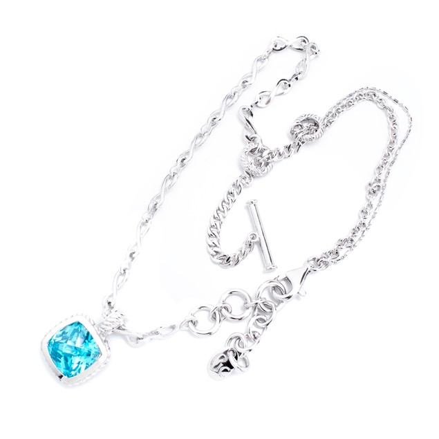 JEWELRY GC  SILVER  BLUE  WOMAN J22500N1