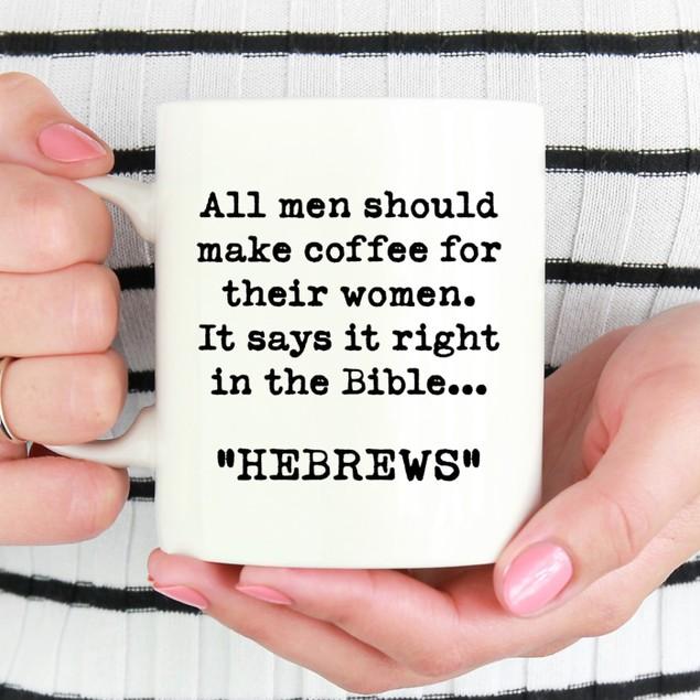 Hebrews Ceramic Mug - Fun Coffee Mug