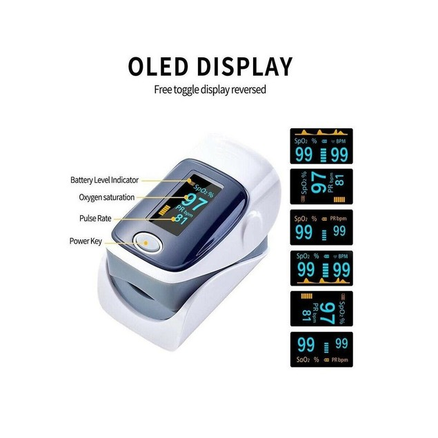 Infrared Forehead Thermometer Fingertip Oximeter Blood Pressure Monitor Kit