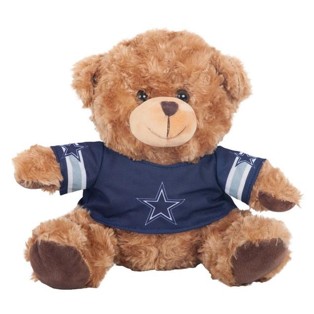 Dallas Cowboys 10 in Plush Teddy Bear With Jersey
