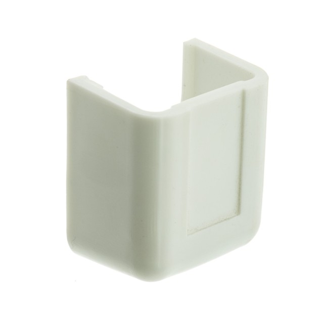 3/4 inch Surface Mount Cable Raceway, White, End Cap