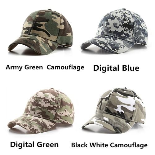 Unisex Outdoor Sports Digital Camouflage Baseball Cap