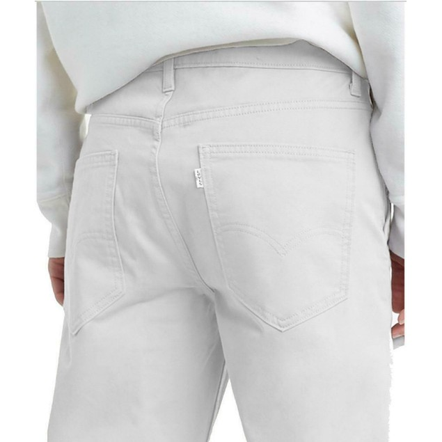 Levi's Men's Men's 511™ Slim Fit Hybrid Trousers White Size 29x32