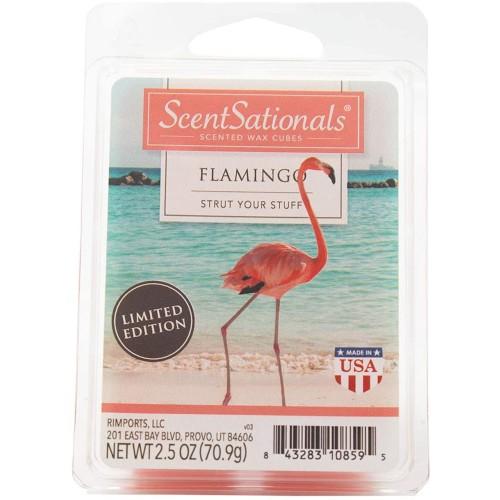 Scentsationals Flamingo 2.5 oz Fragrant Wax Melts - 3 Pack