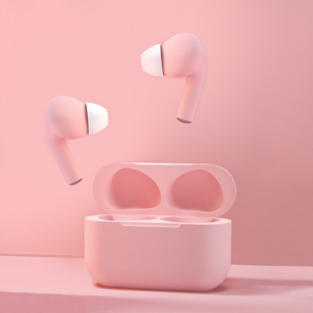 New Generation Rubber Matte Wireless Earbuds | Bold & Bright Colors