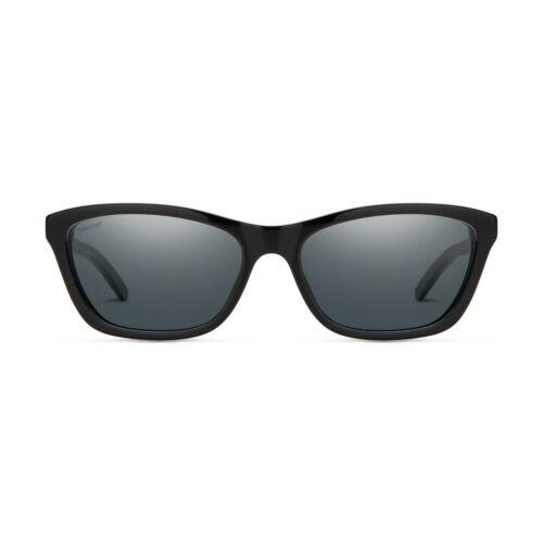 Smith Sunglasses for Women The Getaway Black/Polarized Gray