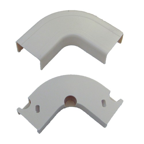 3/4 inch Surface Mount Cable Raceway, 90 Degree Elbow