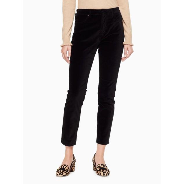 NYDJ Women's Alina Ankle Jeans, Black,  SZ 0