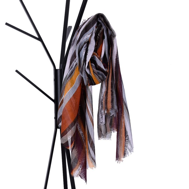 Women Striped Women's Shawl Pashmina Stole Scarf Scarves
