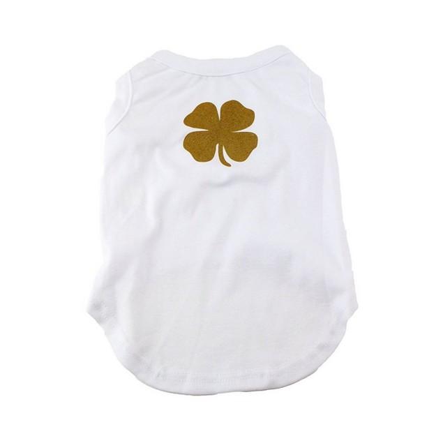 Midlee Four Leaf Clover St Patrick's Day Shirt