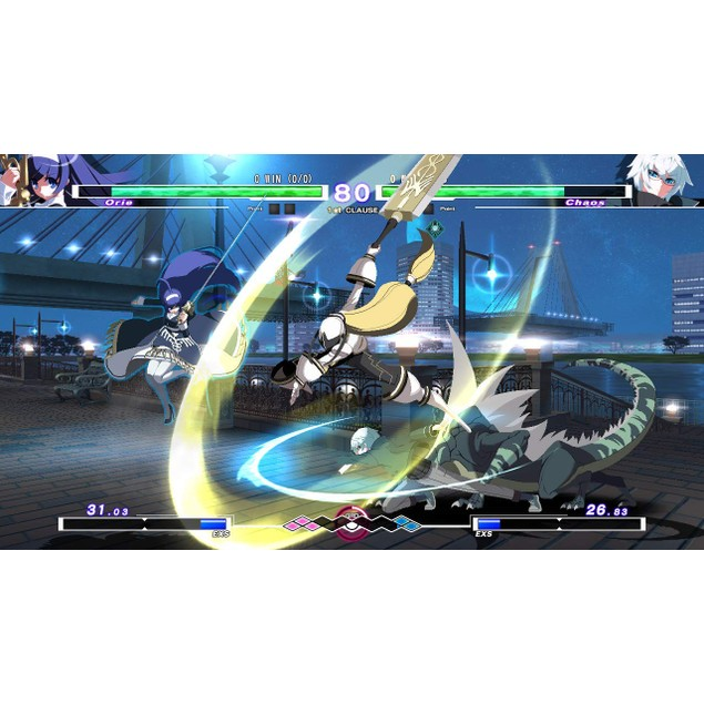 Under Night In Birth Exe [cl-r] Nintendo Switch Game