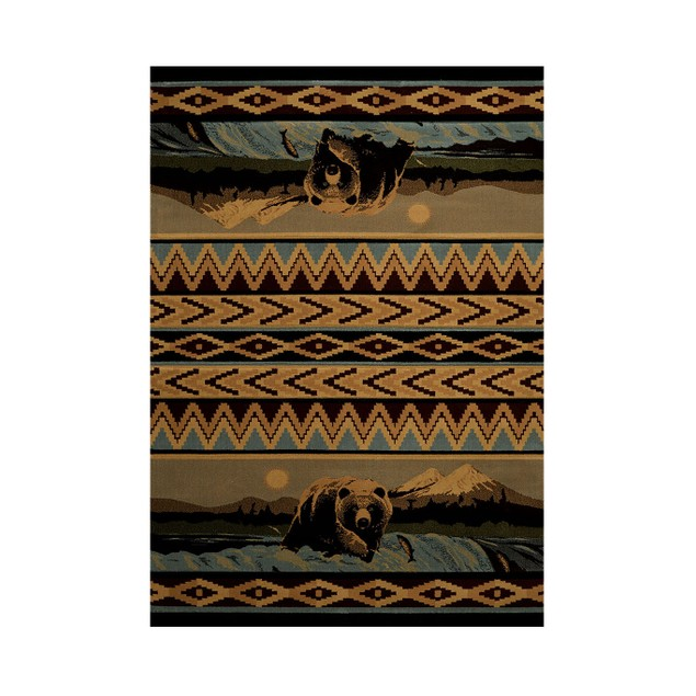 United Weavers Bear Falls Lodge Style Carpet Area Rugs