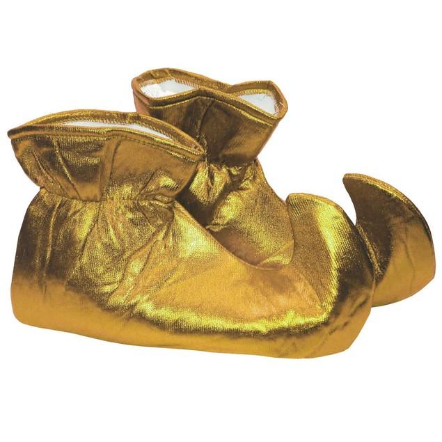 Gold CLOTH Elf Shoes