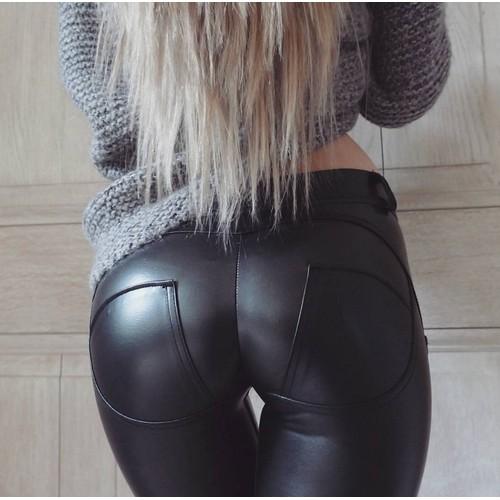 Women's Leggings Yoga Leather Pants