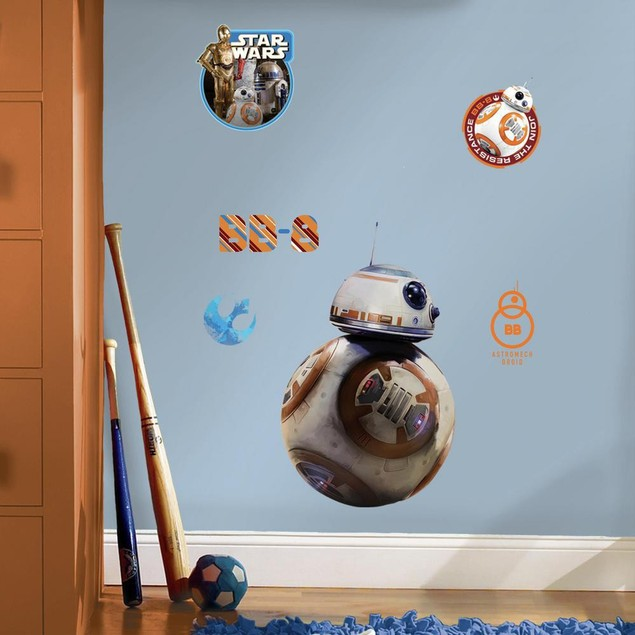 Roommates Wall Decor Star Wars: The Force Awakens BB-8 Giant Wall Decals