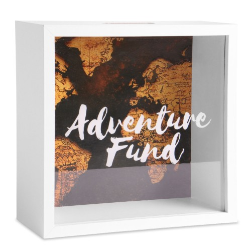 Adventure Money Box | MandW World Map