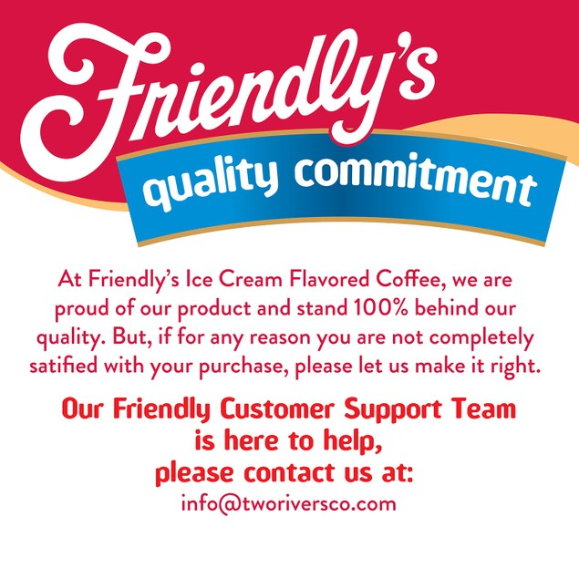 Friendly's Coffee Pods for Keurig K-Cups Brewer Butterscotch Swirl 40 Count