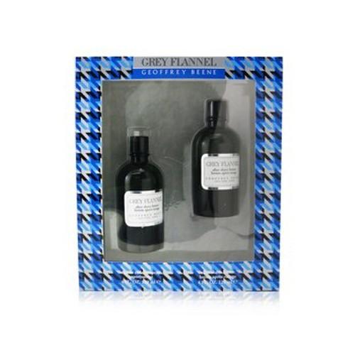 Geoffrey Beene Grey Flannel Coffret: Eau De Toilette Spray 120ml/4oz + After Shave Lotion 120ml/4oz