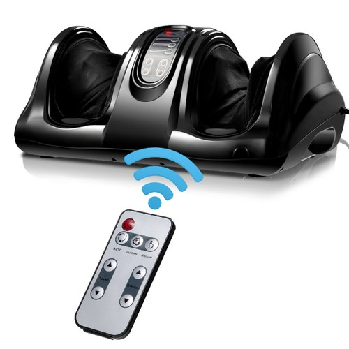Shiatsu Foot Massager Kneading and Rolling Leg Calf Ankle w/Remote