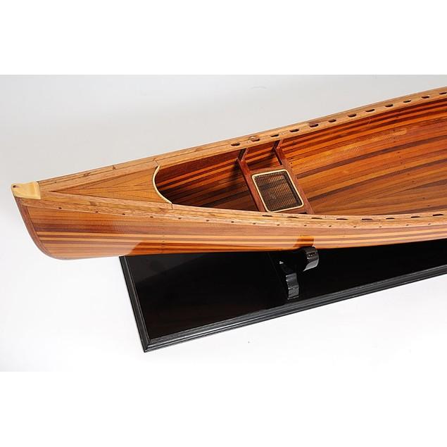 Old Modern Handicrafts Canoe Model